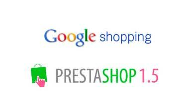 Módulo Google Shopping PrestaShop 1.5